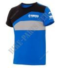 T-SHIRT PADDOCK RACE BLUE ENFANT/JUNIOR-Yamaha